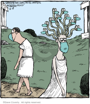 Comic Strip Dave Coverly  Speed Bump 2020-08-08 Greek mythology