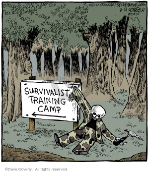 Comic Strip Dave Coverly  Speed Bump 2020-08-13 speed