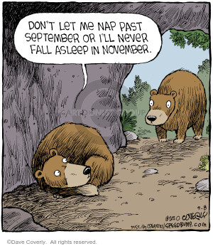 Comic Strip Dave Coverly  Speed Bump 2020-09-08 don't