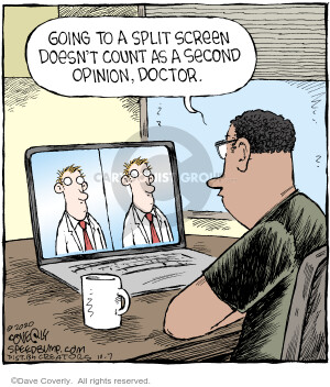 Comic Strip Dave Coverly  Speed Bump 2020-10-07 patient