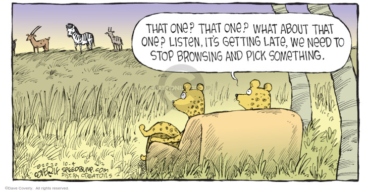 Comic Strip Dave Coverly  Speed Bump 2020-10-04 get