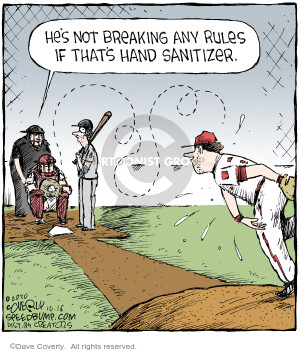Comic Strip Dave Coverly  Speed Bump 2020-10-16 baseball
