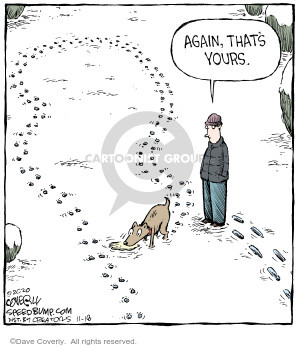 Comic Strip Dave Coverly  Speed Bump 2020-11-18 again