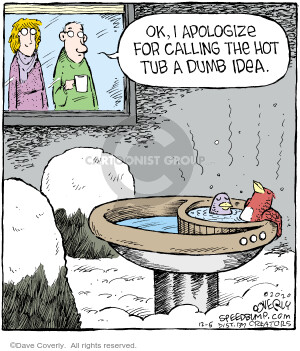 Comic Strip Dave Coverly  Speed Bump 2020-12-05 speed