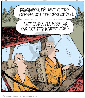 Comic Strip Dave Coverly  Speed Bump 2021-01-19 Dave