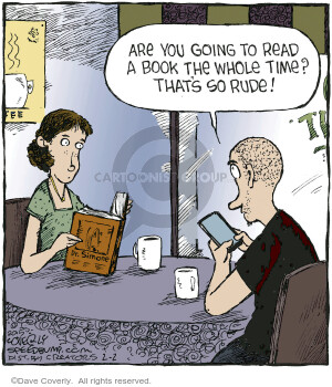 Comic Strip Dave Coverly  Speed Bump 2021-02-02 speed dating