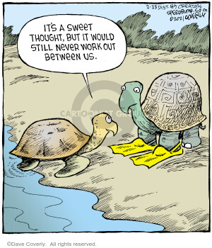 Comic Strip Dave Coverly  Speed Bump 2021-02-23 speed dating
