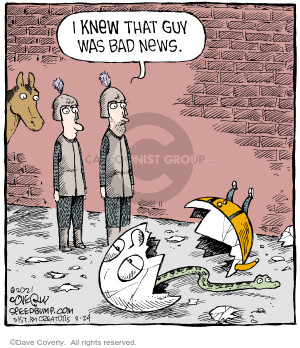Comic Strip Dave Coverly  Speed Bump 2021-02-24 bad