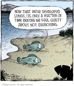 Comic Strip Dave Coverly  Speed Bump 2021-03-04 fish