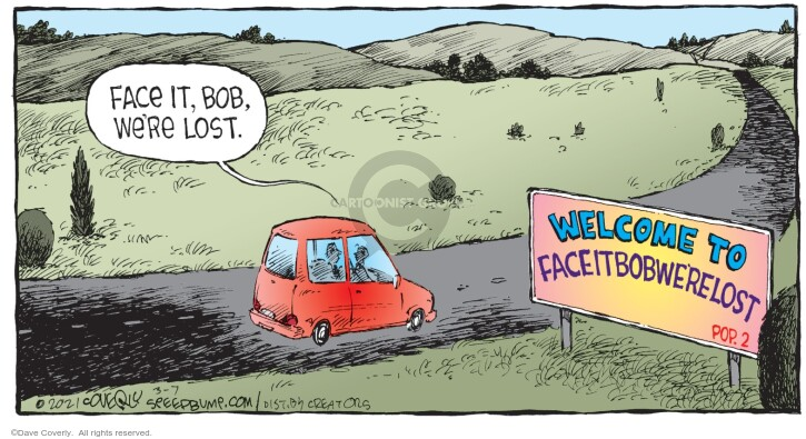 Comic Strip Dave Coverly  Speed Bump 2021-03-07 vacation