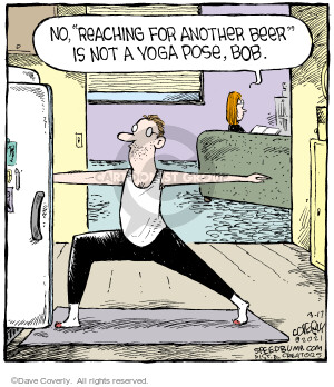 Comic Strip Dave Coverly  Speed Bump 2021-03-17 speed