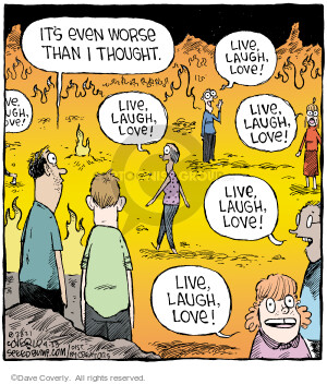 Comic Strip Dave Coverly  Speed Bump 2021-04-23 Dave Coverly