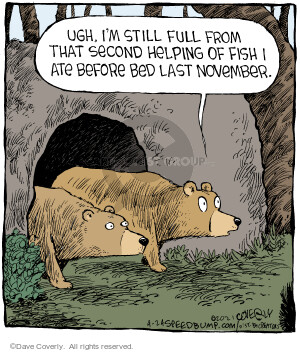 Comic Strip Dave Coverly  Speed Bump 2021-04-24 bear