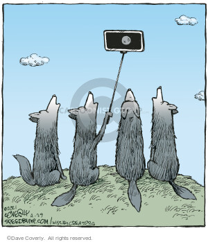 Comic Strip Dave Coverly  Speed Bump 2021-04-29 cell phone