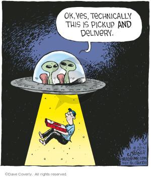 Comic Strip Dave Coverly  Speed Bump 2021-05-20 alien