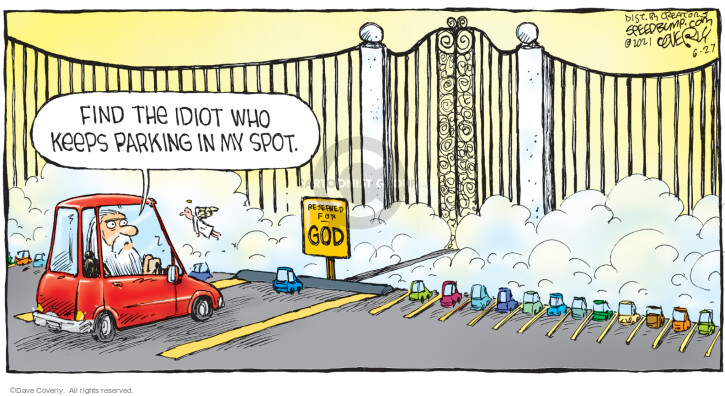 Comic Strip Dave Coverly  Speed Bump 2021-06-27 life