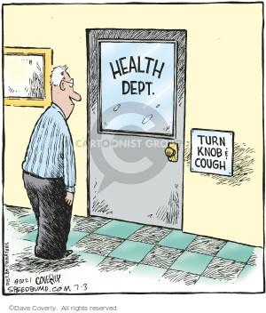 Comic Strip Dave Coverly  Speed Bump 2021-07-03 health