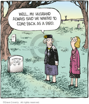 Comic Strip Dave Coverly  Speed Bump 2021-07-16 spouse
