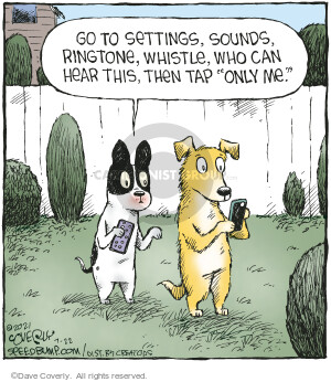 Comic Strip Dave Coverly  Speed Bump 2021-07-22 cell phone