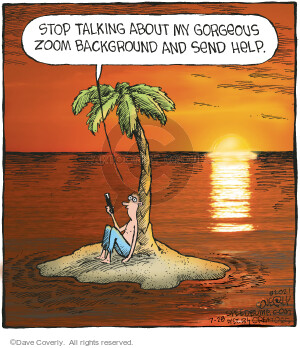 Comic Strip Dave Coverly  Speed Bump 2021-07-28 Dave