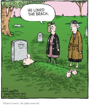 Comic Strip Dave Coverly  Speed Bump 2021-08-24 dead