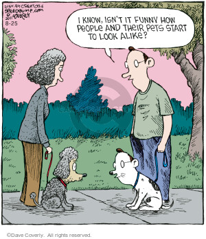 Comic Strip Dave Coverly  Speed Bump 2021-08-25 face