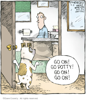 Comic Strip Dave Coverly  Speed Bump 2021-09-06 dog