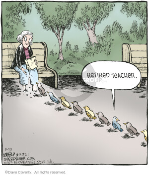 Comic Strip Dave Coverly  Speed Bump 2021-09-13 student