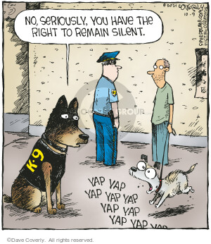 Comic Strip Dave Coverly  Speed Bump 2021-10-09 speed