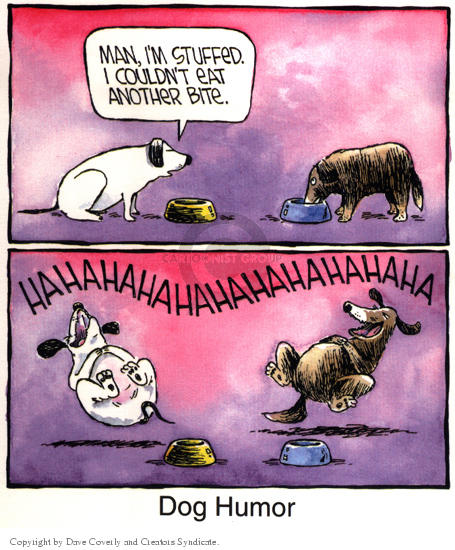 Cartoonist Dave Coverly  Speed Bump 2002-00-00 comedy