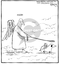 Comic Strip Dave Coverly  Speed Bump 2002-09-04 halo