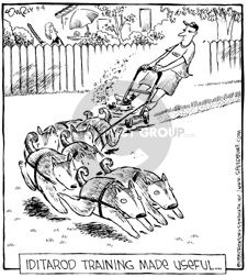 Cartoonist Dave Coverly  Speed Bump 2002-08-04 made