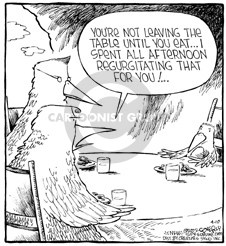 Comic Strip Dave Coverly  Speed Bump 2002-04-08 vomit