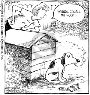 Comic Strip Dave Coverly  Speed Bump 2007-04-10 cigarette