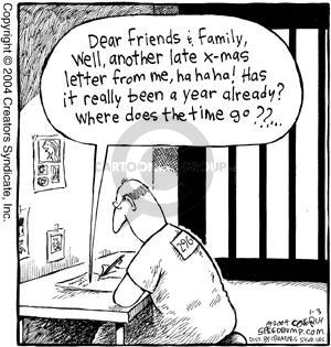 Cartoonist Dave Coverly  Speed Bump 2004-01-03 prisoner