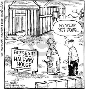 Comic Strip Dave Coverly  Speed Bump 2004-01-05 architect