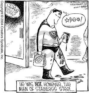 Comic Strip Dave Coverly  Speed Bump 2004-01-24 Superman