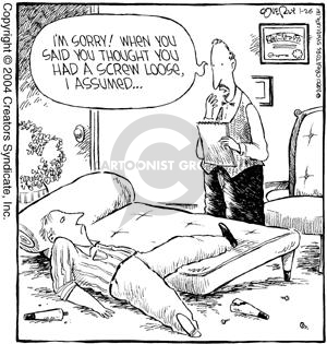 Comic Strip Dave Coverly  Speed Bump 2004-01-26 psychotherapy