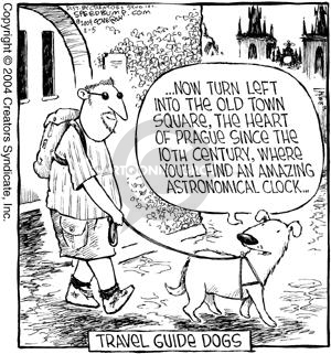 Comic Strip Dave Coverly  Speed Bump 2004-02-05 guide dog