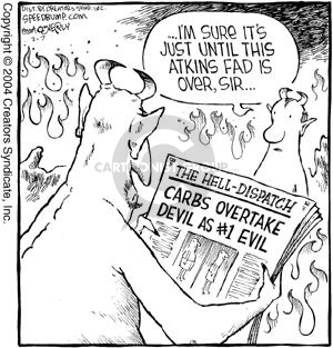 Comic Strip Dave Coverly  Speed Bump 2004-02-07 loss