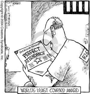Cartoonist Dave Coverly  Speed Bump 2004-02-11 prisoner
