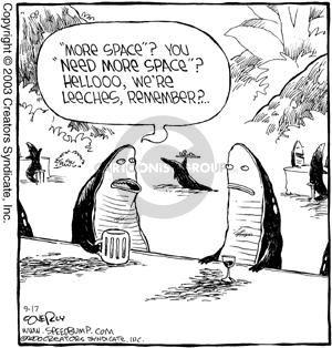 Comic Strip Dave Coverly  Speed Bump 2003-09-17 get out more