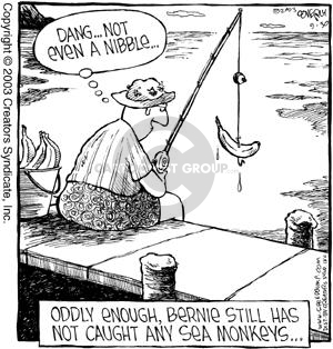 Comic Strip Dave Coverly  Speed Bump 2003-09-30 lake