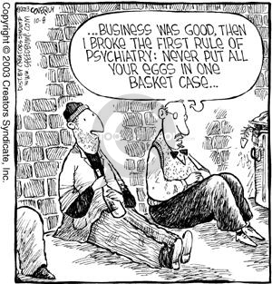 Comic Strip Dave Coverly  Speed Bump 2003-10-08 psychotherapy