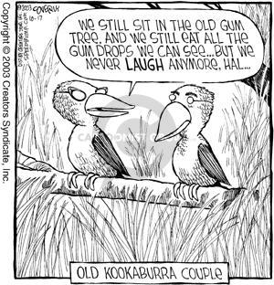 Comic Strip Dave Coverly  Speed Bump 2003-10-17 bird