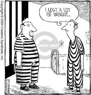 Cartoonist Dave Coverly  Speed Bump 2004-03-16 prisoner