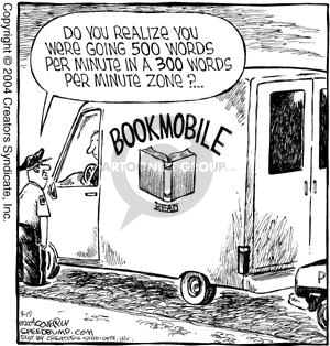 Cartoonist Dave Coverly  Speed Bump 2004-03-19 library