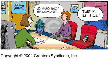 Comic Strip Dave Coverly  Speed Bump 2004-03-21 true