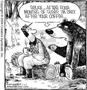 Comic Strip Dave Coverly  Speed Bump 2004-03-27 forest