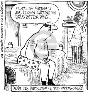Comic Strip Dave Coverly  Speed Bump 2004-04-20 aging body